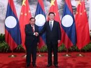 Laos y China buscan profundizar vínculos multisectoriales