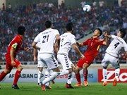 Vietnam clasifica a la ronda final del Campeonato Asiático de fútbol