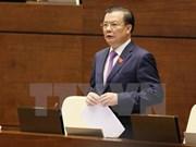 Ministros vietnamitas rinden cuenta ante Asamblea Nacional