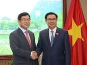 Destacan asistencia de Samsung al desarrollo de industrias auxiliares en Vietnam