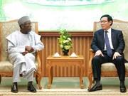 Vietnam y Nigeria por impulsar lazos en agricultura