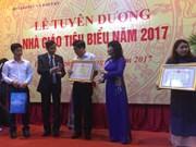 Celebran en Vietnam actividades conmemorativas del Día Nacional del Maestro
