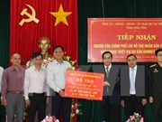 Laos asiste a localidad vietnamita en recuperación de secuelas de tifón Damrey
