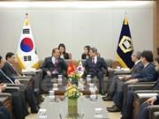 Viceprimer ministro de Vietnam realiza visita a Sudcorea