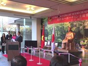 Inauguran en Japón estatua en homenaje al presidente Ho Chi Minh