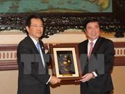 Ciudad Ho Chi Minh y prefectura japonesa de Osaka impulsan cooperación comercial