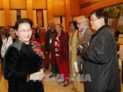 Presidenta del Parlamento afirma protección de paz como máxima prioridad de Vietnam