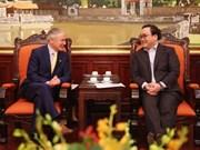 Vietnam e Irlanda amplían cooperación