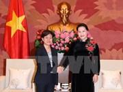 Presidenta del Parlamento de Vietnam visitará Singapur