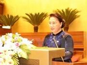 Presidenta del Parlamento de Vietnam realizará gira por Singapur y Australia