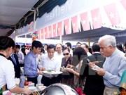 Productos vietnamitas acaparan especial atención del público en Food Expo en Kiev