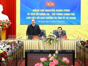 Provincia vietnamita de Ha Giang debe esforzarse para impulsar crecimiento socioeconómico, dijo premier