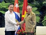 Vietnam y Cuba patentizan determinación de impulsar lazos en seguridad y defensa