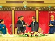 Presidente de Vietnam destaca amistad con Polonia