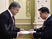 Presidente de Ucrania: Fortalecimiento de nexos con Vietnam es una prioridad