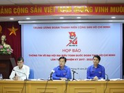 Unión de Jóvenes Comunistas Ho Chi Minh celebrará XI Congreso en Hanoi