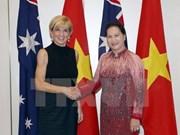 Visitas a Singapur y Australia de presidenta parlamentaria materializan objeivos de relaciones exteriores de Vietnam