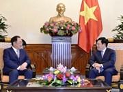 Vietnam y Sudcorea robustecen cooperación comercial