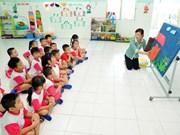 Grupo japonés interesado en penetrar en esfera de educación preescolar de Vietnam