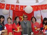 Impresionante imagen de Vietnam en Feria Bazaar en la India