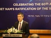 Destacan integración de Vietnam a los Convenios de Ginebra