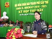 Consejo Popular de ciudad vietnamita de Can Tho inicia séptima reunión