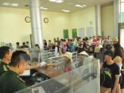 Alcanza cifra récord número de turistas por el par de puertas fronterizas Mong Cai- Dongxing