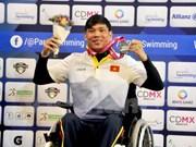 Vietnam gana medallas de plata en eventos deportivos mundiales para minusválidos