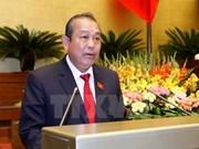 Vicepremier vietnamita pide mayor eficiencia en lucha contra delincuencia