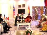 Delegación de PCV participa en congreso del partido gobernante de Malasia