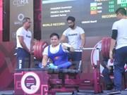 Vietnam gana otra plata en Campeonato mundial de levantamiento de pesas para minusválidos