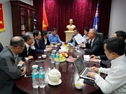 Vietnam y Australia buscan mejorar comercio de productos acuáticos