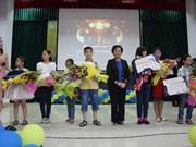 Celebran en Hanoi concurso internacional de dibujo infantil sobre la paz