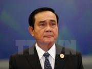 Premier tailandés se compromete a favorecer actividades de partidos políticos