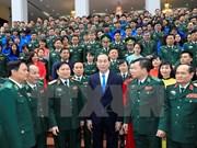 Presidente alaba esfuerzos de la guardia fronteriza por salvaguardar la soberanía nacional
