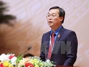 Le Quoc Phong reeligido como primer secretario del Comité Central de UJCHCM