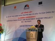 Proyecto EU-MUTRAP facilita proceso de integración comercial de Vietnam