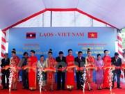 Ponen en operación en Laos imprenta obsequiada por Vietnam
