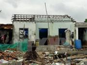 Unión Europa proporciona ayuda financiera para vietnamitas afectados por tifón Damrey