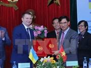 Provincias vietnamita y ucraniana cooperan en desarrollo de parques industriales