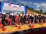 Inician en Laos construcción de escuela financiada por Vietnam