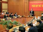 Presidente vietnamita preside reunión del Comité Directivo para Reforma Judicial