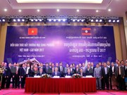 Foro en Vientiane busca impulsar comercio entre Vietnam y Laos