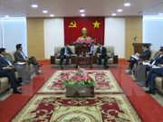 Empresas de India buscan oportunidades de inversión en Binh Duong