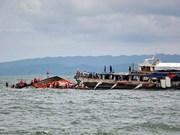 Naufraga en la costa de Filipinas un ferry con 251 personas a bordo
