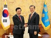 Vicepremier y canceller de Vietnam continúa agenda en Sudcorea