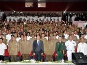 Celebran en Cuba y República Checa aniversario de Fundación del Ejército Popular de Vietnam
