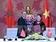 Concluye visita a Vietnam presidente de Cámara de Representantes de Marruecos
