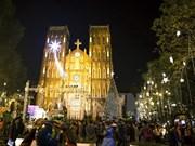 Ambiente navideño reina en localidades vietnamitas