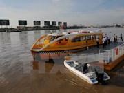 Turismo fluvial de Ciudad Ho Chi Minh atrae gran número de viajeros en 2017